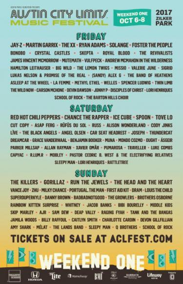 Austin City Limits Festival Weekend 1 - Saturday at Zilker Park
