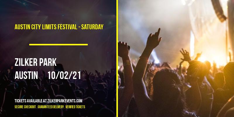 Austin City Limits Festival - Saturday at Zilker Park